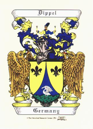 Dippel Family Crest